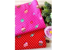 "KC2859 Cotton ""Sweet Pastry Polka Dot"""