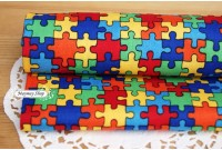 C1440 Designer Brand Cotton *Colorful Puzzle*