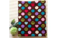 "CF2606 Cotton Flannel ""Peace & Love"""