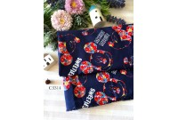 "C3314 Designer Brand Cotton""Illustrator Mickey & Minnie"""