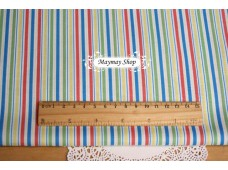 C1175 Designer Brand Cotton *Bazoople Carousel Stripe*