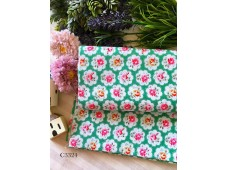 "C3324 Cath Kidston ""Button Rose Green"""