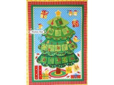 C1094 Designer Brand Cotton *Advent Calender Panel*
