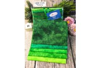 "QDC3329 Designer Cotton Tone Fabric Bundle""GREEN"""