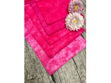 "QDC3329 Designer Cotton Tone Fabric Bundle""PINK"""