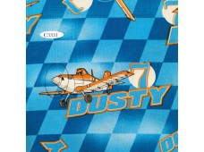 "C3331 Designer Brand Cotton""Dusty Racing Check Toss"""