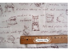 LC 680 Blended Linen Cotton*Fonts + Zakka Life Style*