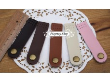 RW20 A Leather Button Snap (plain)
