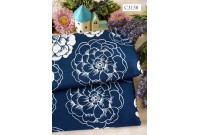 "ZC3158 Designer Brand Cotton ""Navy Flora"" (Defect)"