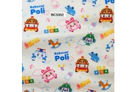 BC3352 Twill Cotton *Robocar Poli*