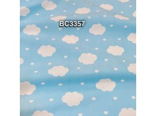 BC3357 TwillCotton *White Clouds Sunny Day*