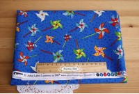 C1292  *Blue Base Pinwheel *