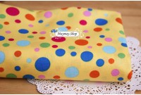 C1173 *Yellow Base Polka Dot*