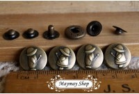 RW75 Snap Button Couple OF Sue ( 633)